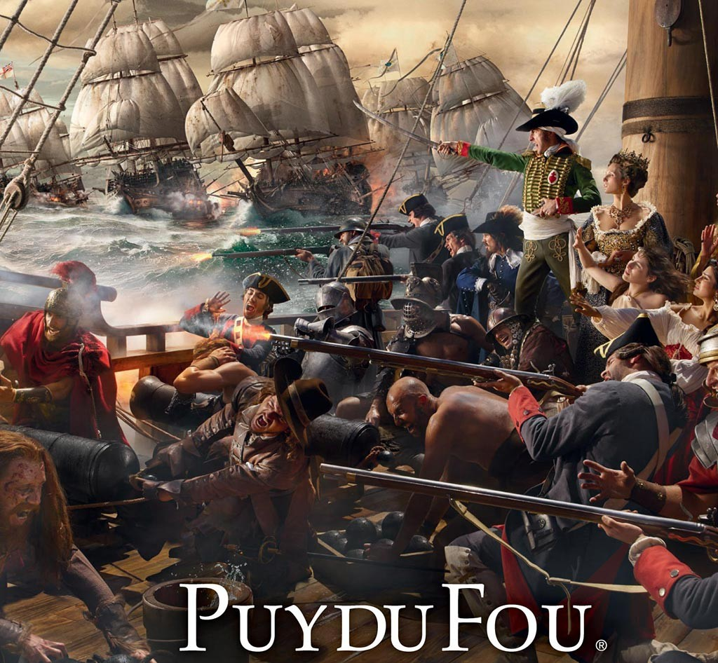 Puy du Fou attractions 2016