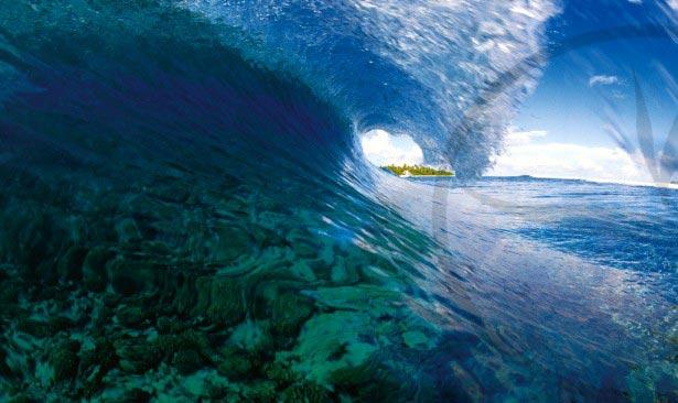 Le Surf à Tuamotu