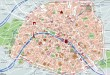 Carte monuments de Paris