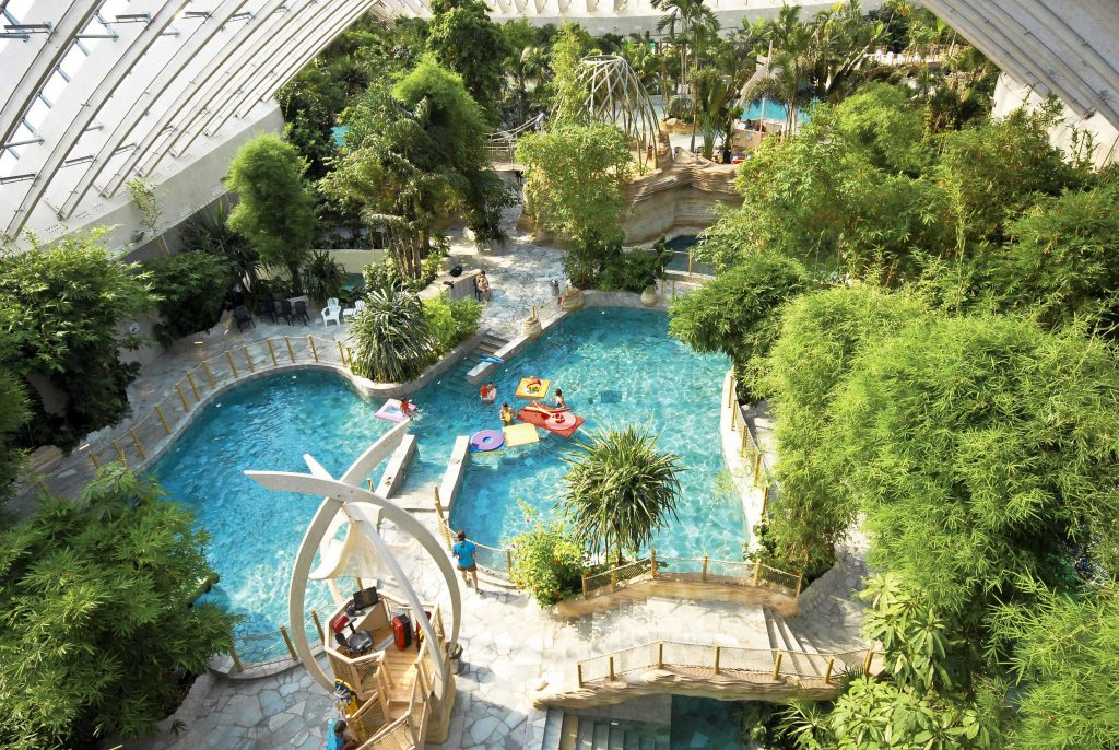 center parcs piscine