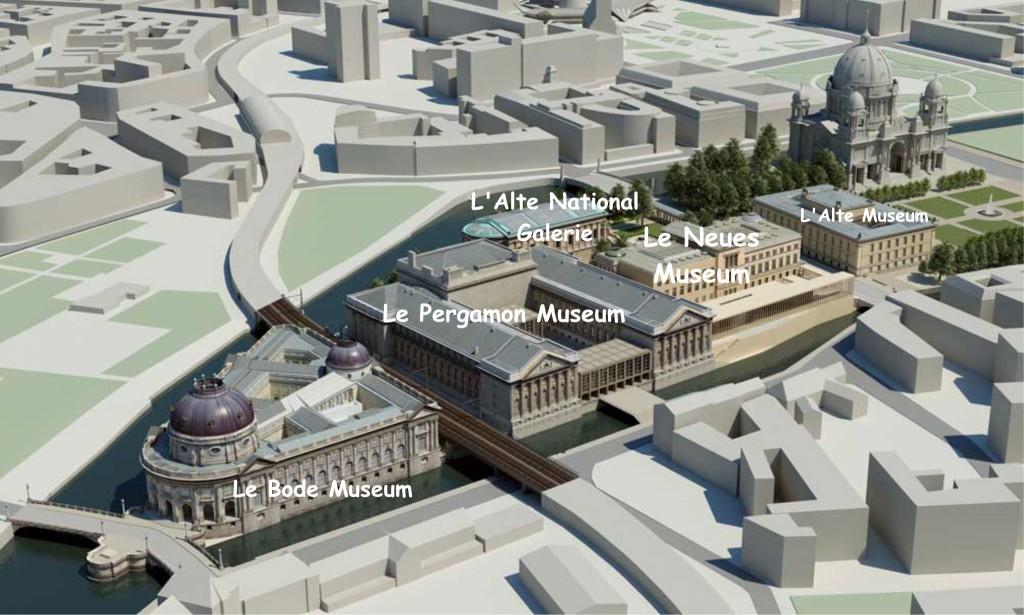 ile aux musées Berlin - Tourisme