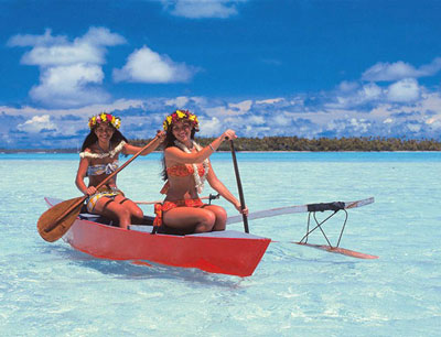 Polynésie - Pirogue