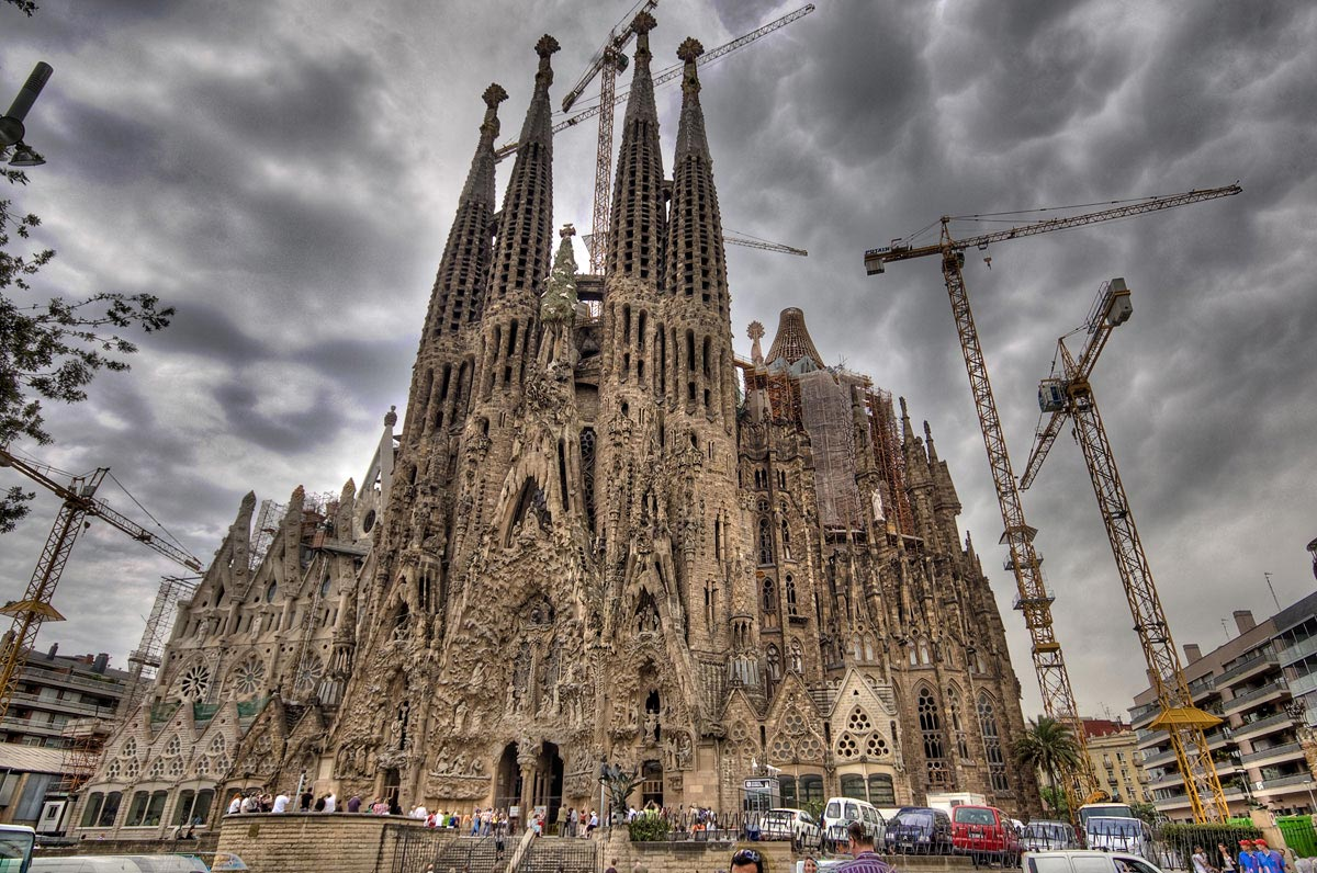 Tourisme à Barcelone - Sagrada familia
