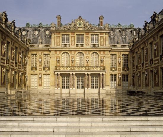 Château de Versailles - La cour de Marbre