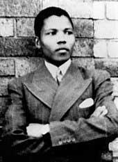 Nelson Mandela - jeune