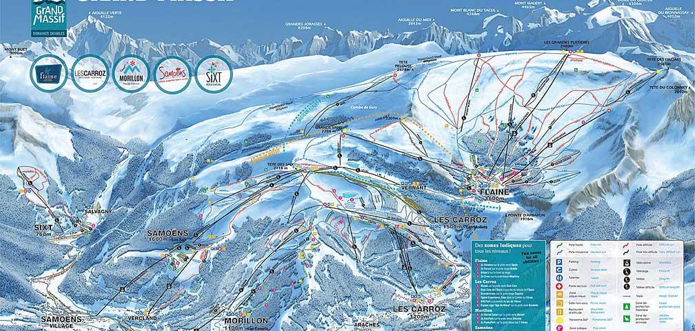 Flaine - Pistes de ski