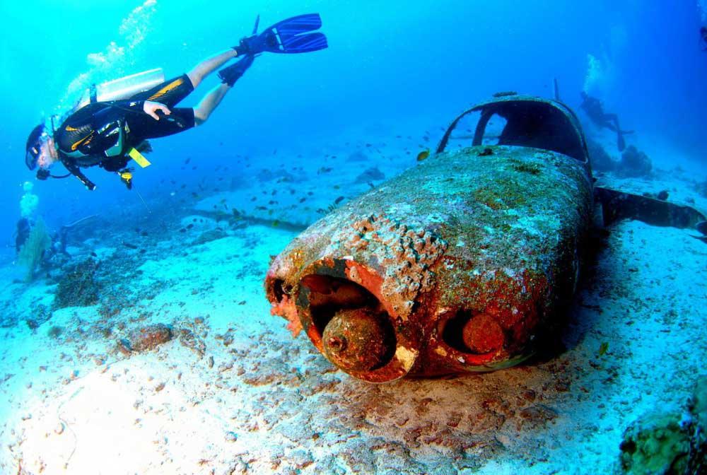 Plongée aux Antilles - Epave