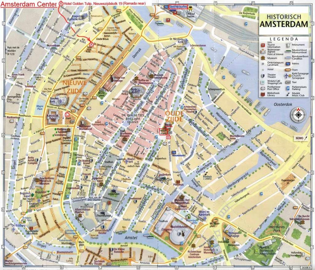 Amsterdam - Carte