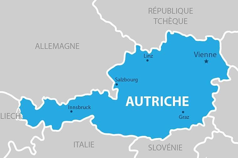 Autriche carte
