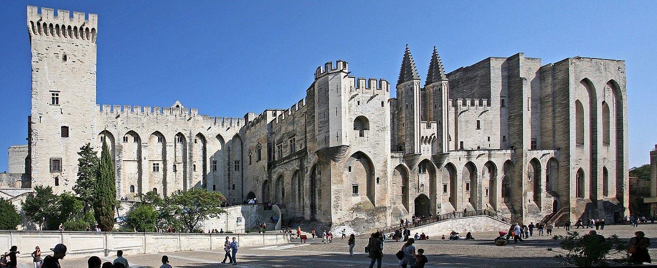 Avignon - Palais-des-Papes