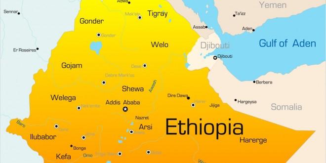 Carte Ethiopie