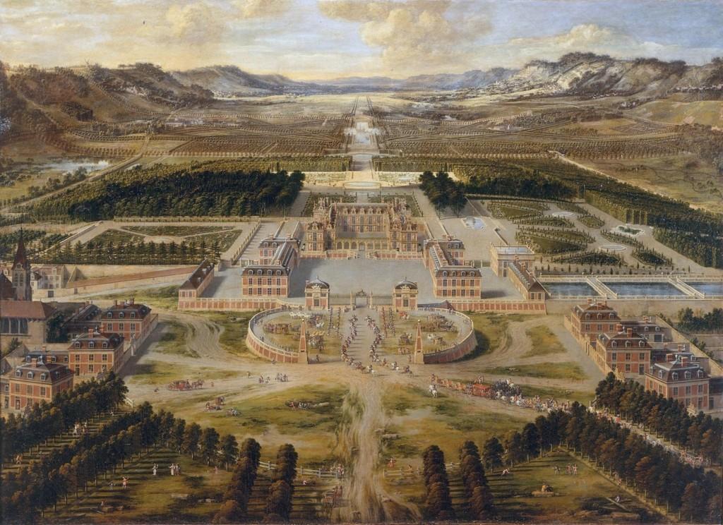 Château de Versailles en 1668