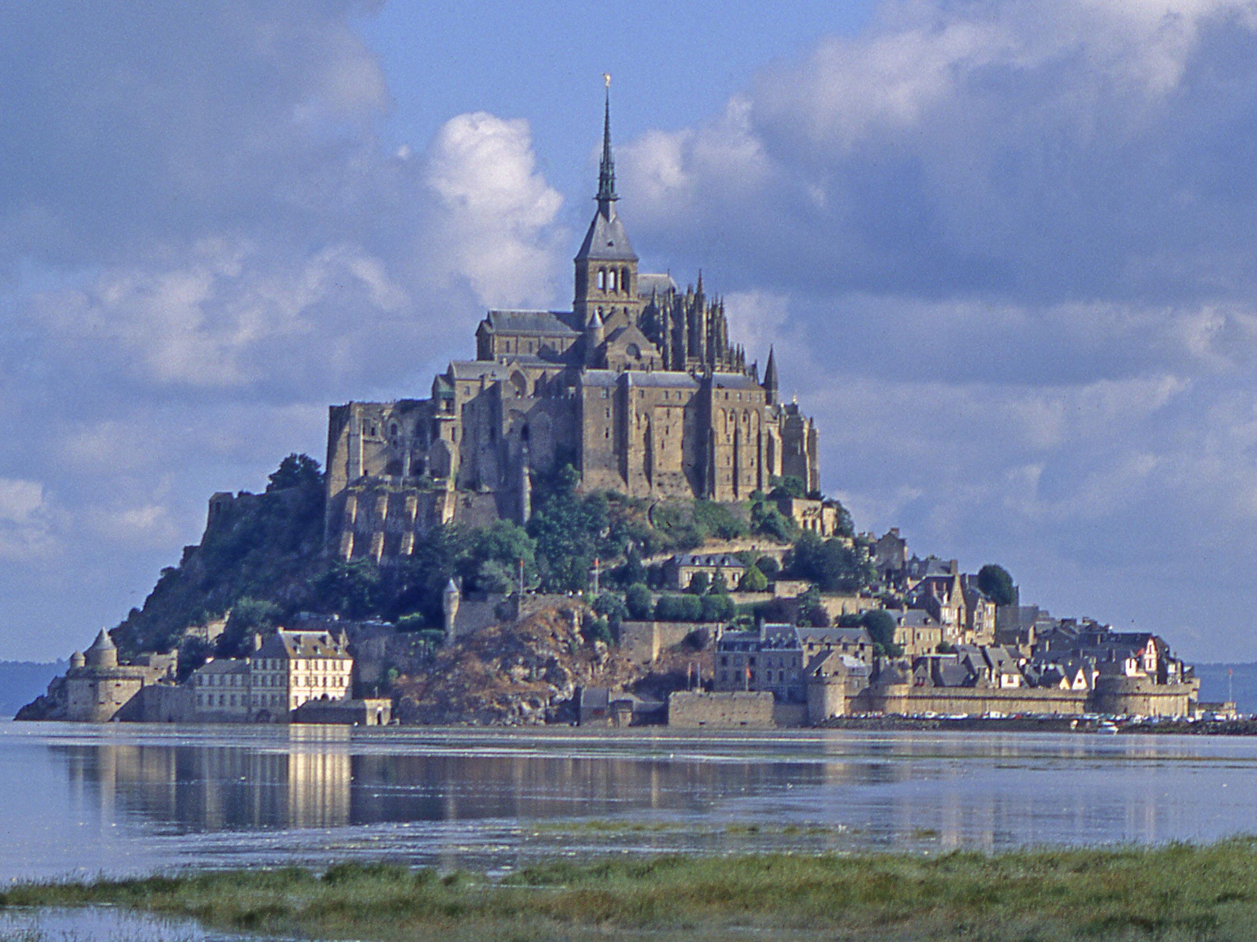 Mont-St-Michel à Marais basse