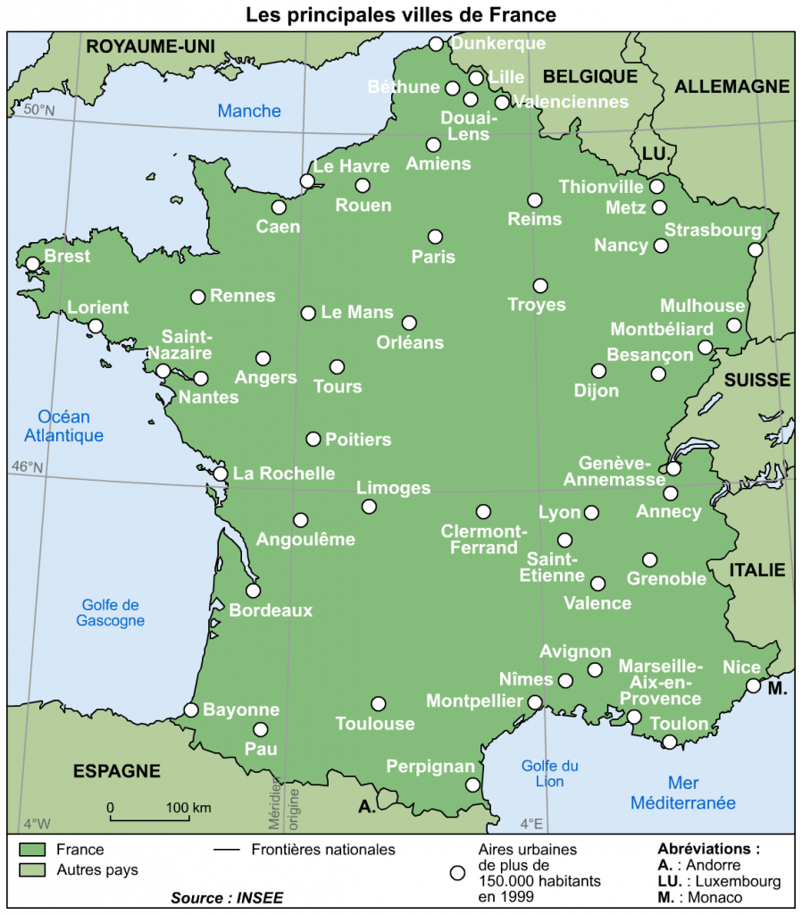 France - Principales-Villes