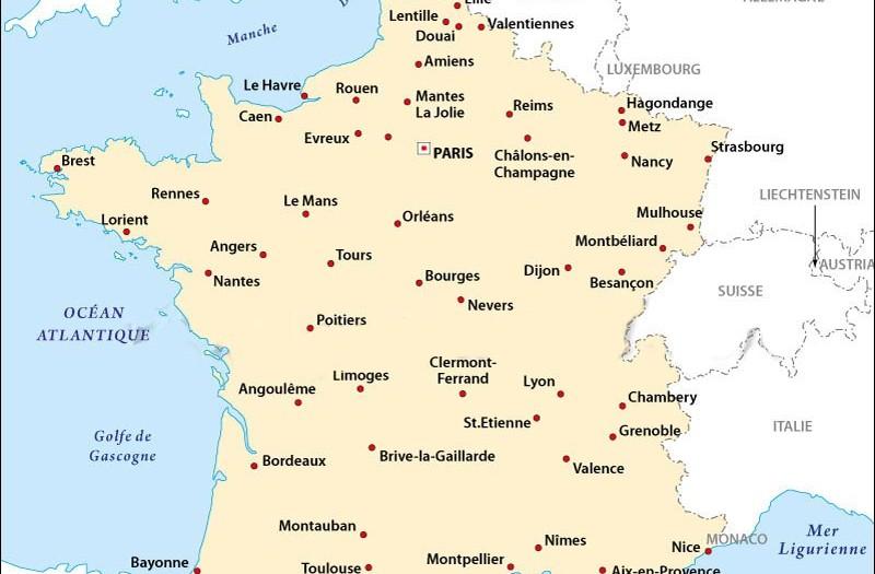 carte grandes villes de france carte grandes villes france   slubne suknie.info