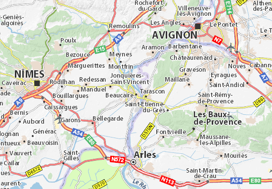 Beaucaire carte