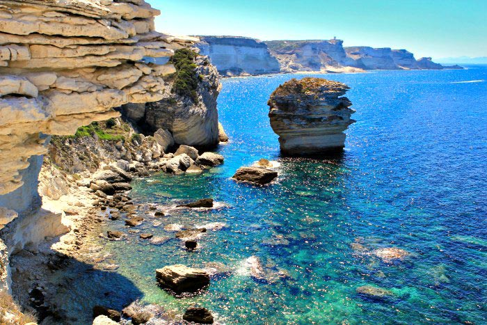 Corse du Sud - Bonifacio paysage