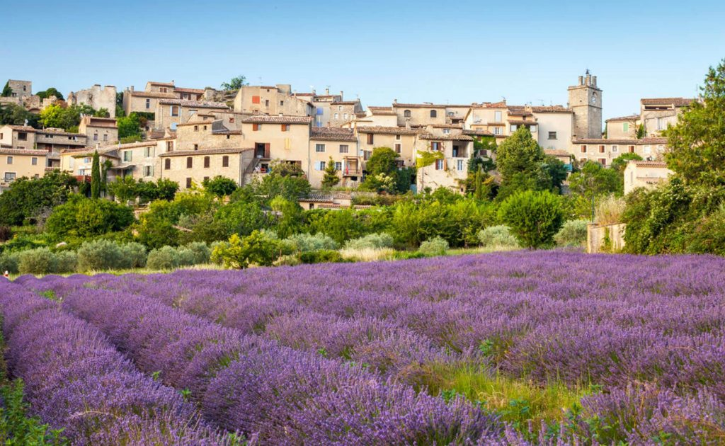 Lubéron - Région de la Provence