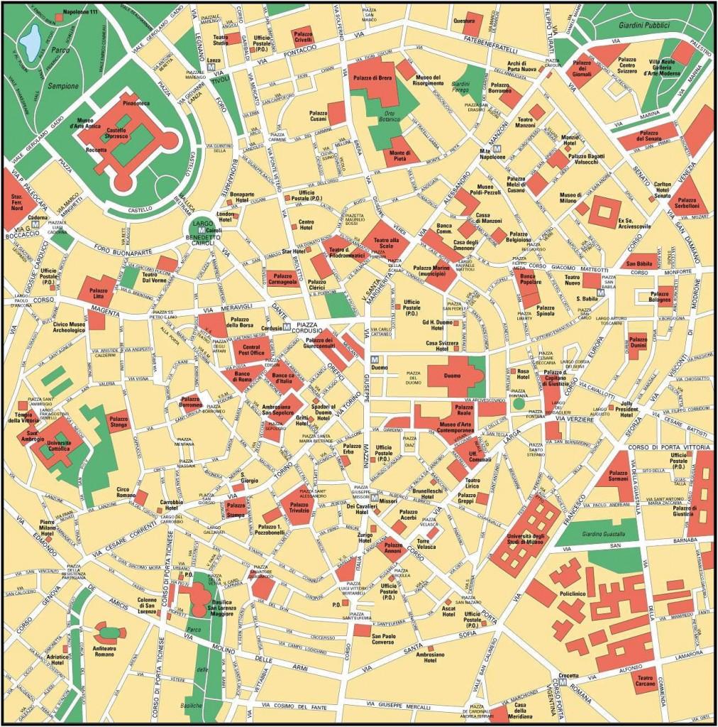 Milan - Carte