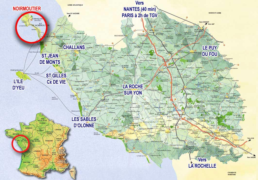 noirmoutier - carte