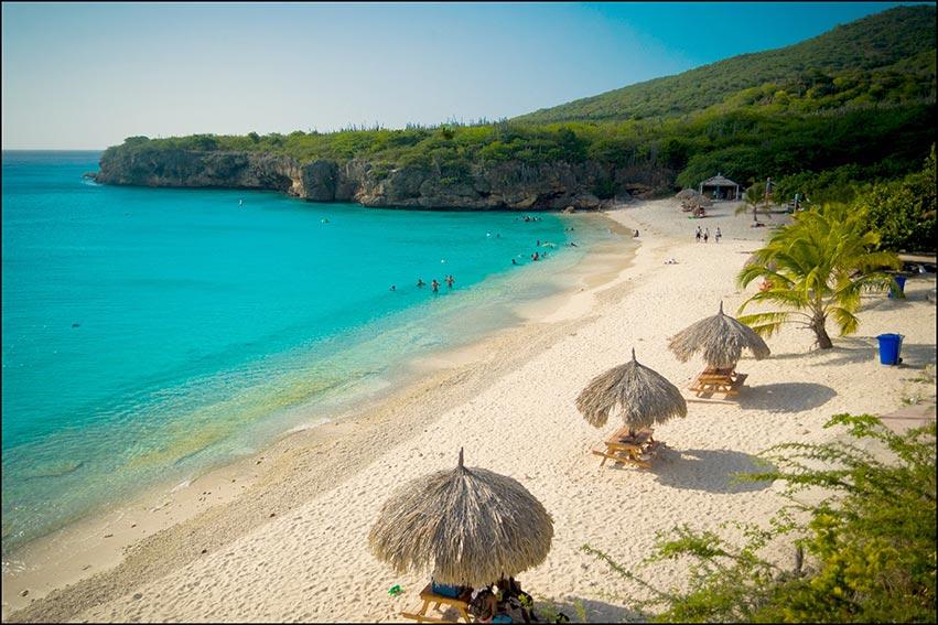 Paysage et plage de Curaçao