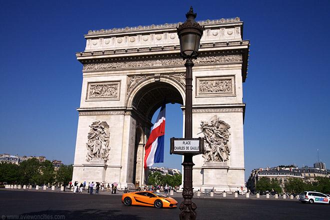 Places Charles De-Gaulle