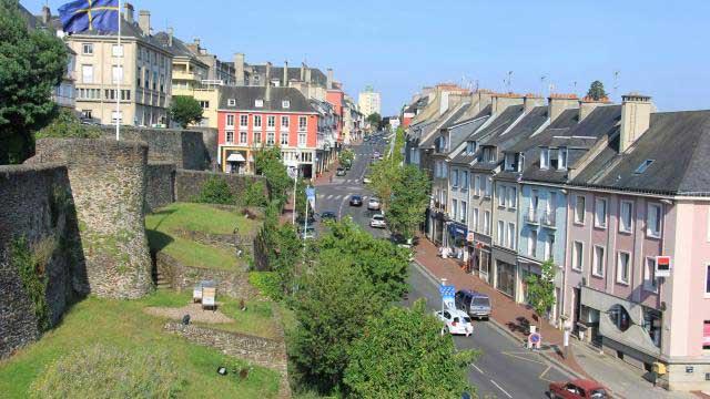 Panorama de Saint Lo