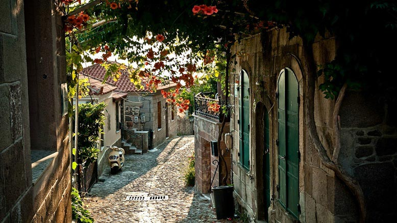 Photo d'un village de provence