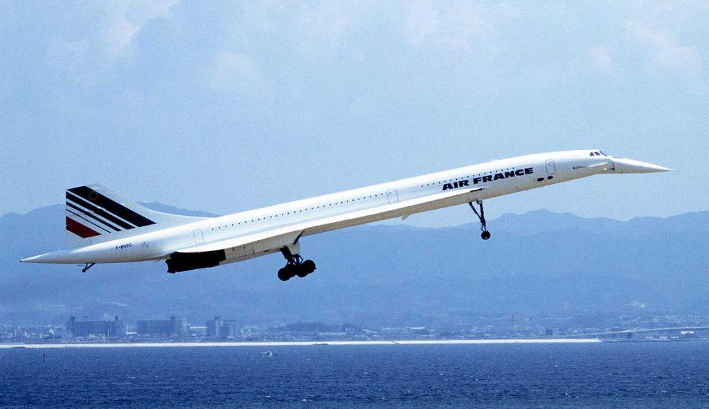 Photo du Concorde
