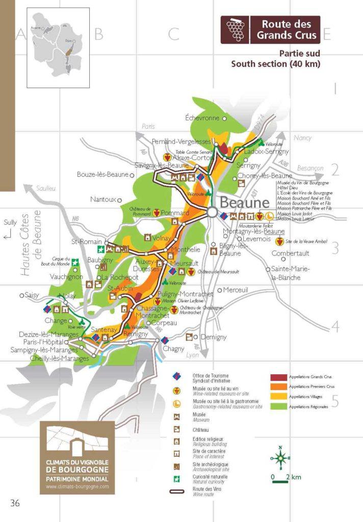 Route du vin de Bourgogne