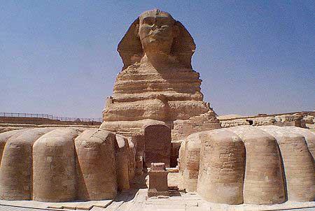 Image du sphinx égyptien