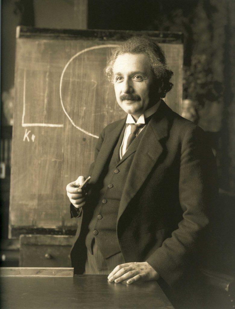 Einstein en 1921