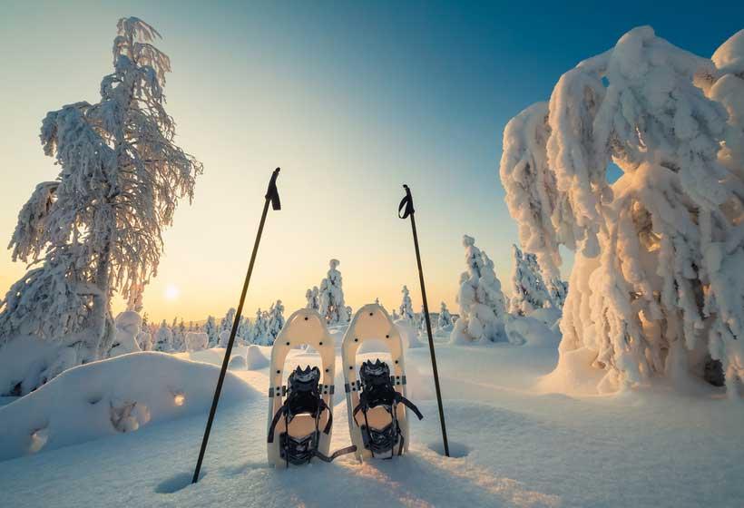 Laponie finlandaise Paysage