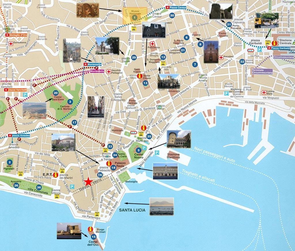 Carte de Naples