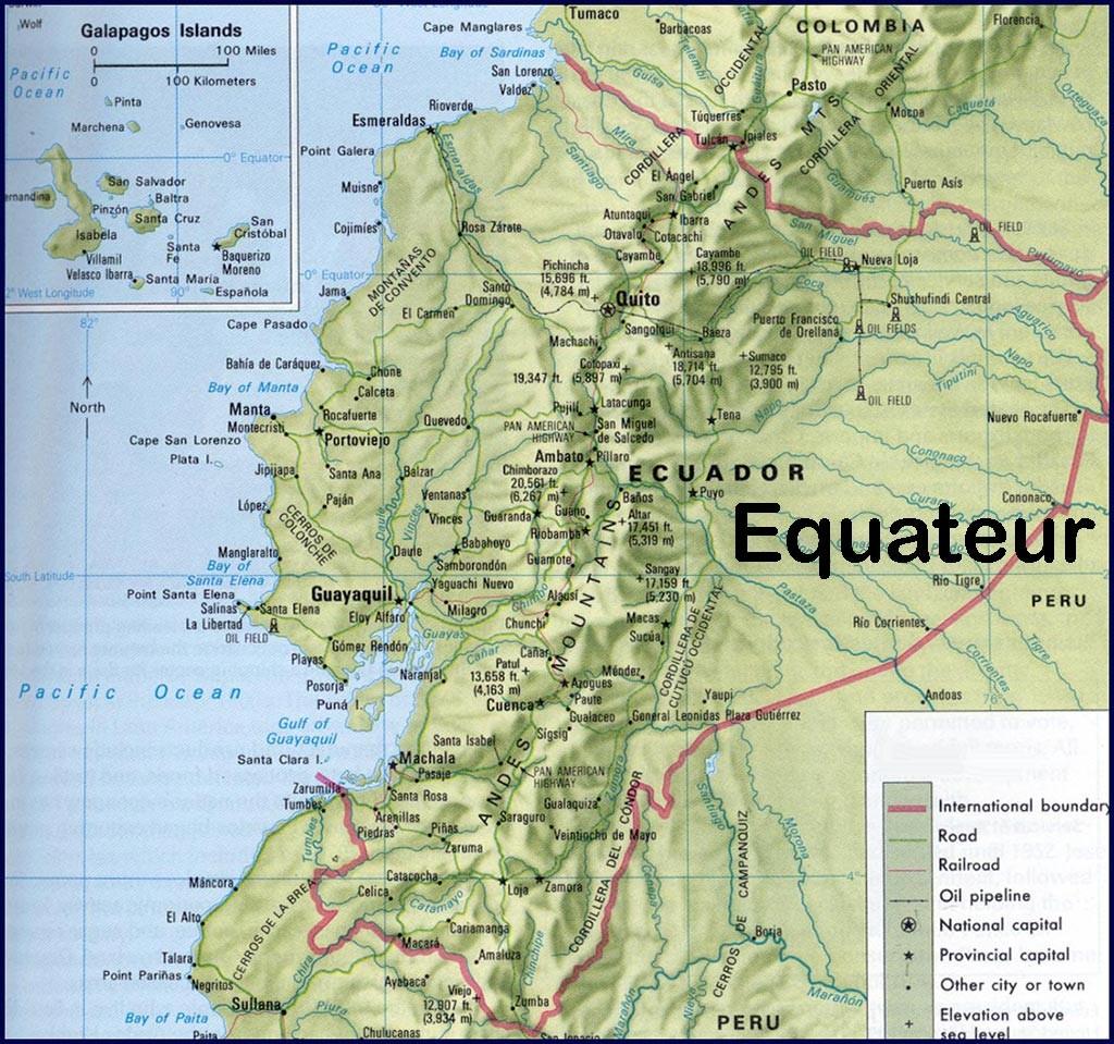 Volcan en Equateur » Vacances - Arts- Guides Voyages