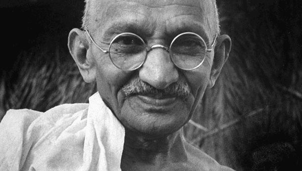 Gandhi - Photo à Delhi