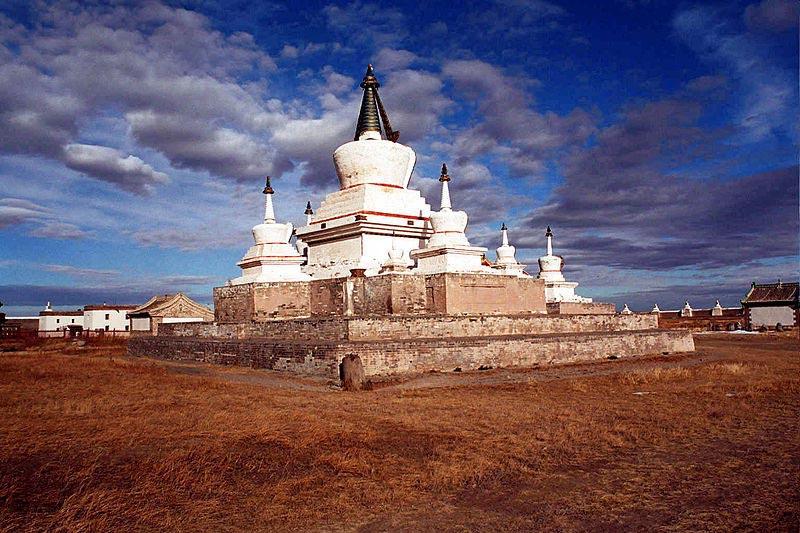Monastère en Mongolie