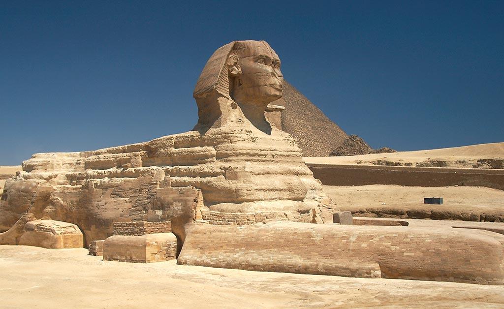 Pyramide de Gizeh - Shinx