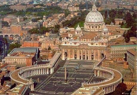Basilique Saint Pierre de Rome au Vatican