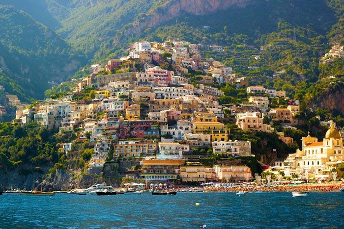 Quartier de la ville de Naples - Photo
