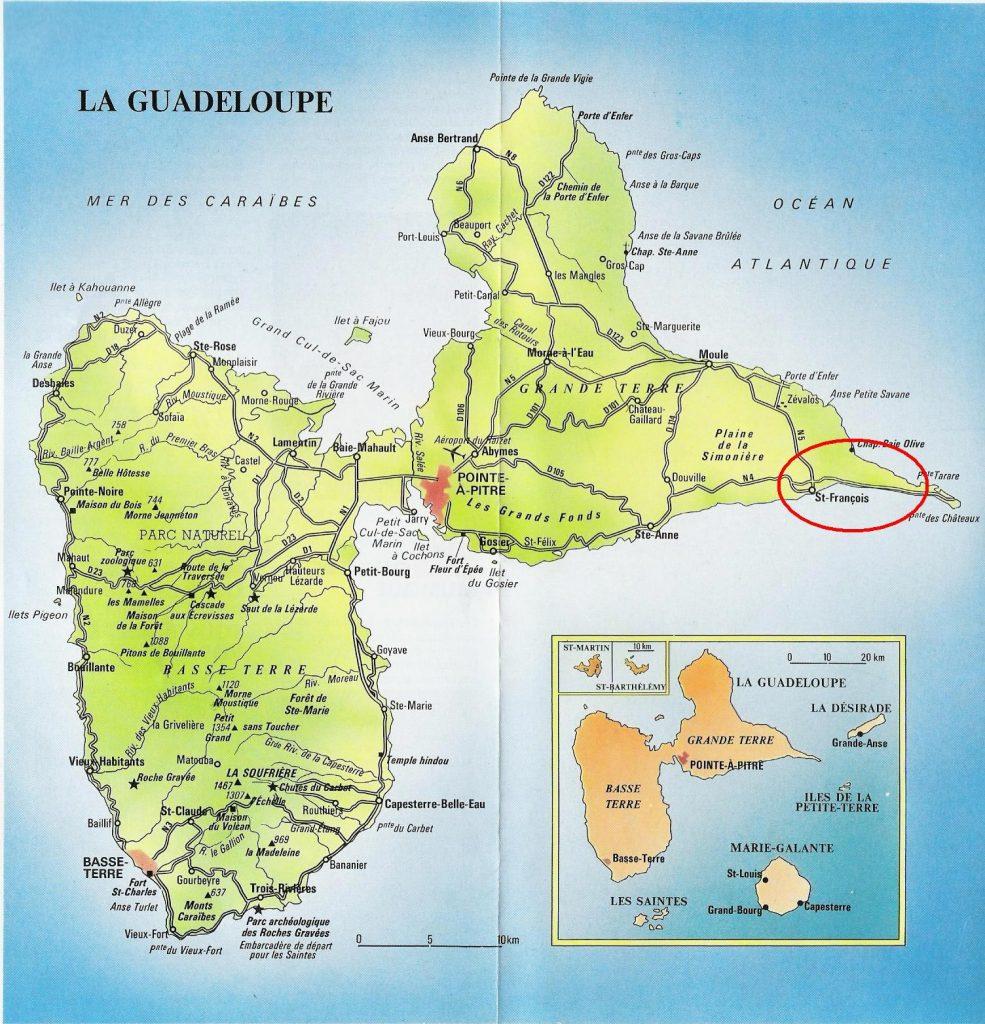 Carte-de-la-Guadeloupe
