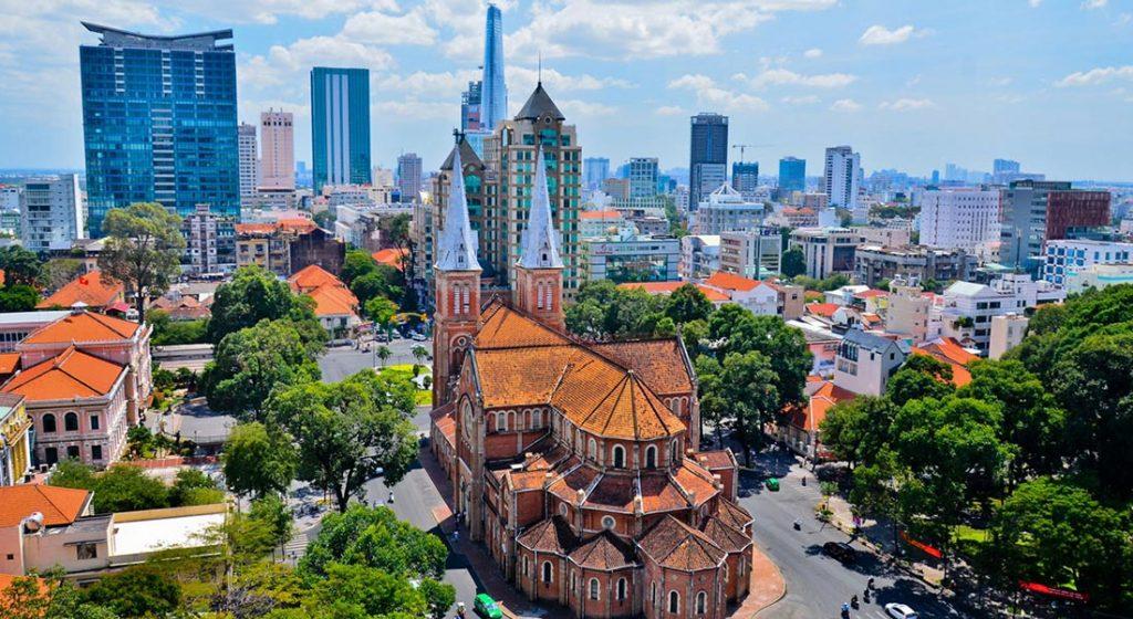 Hô Chi Minh Ville - Panorama