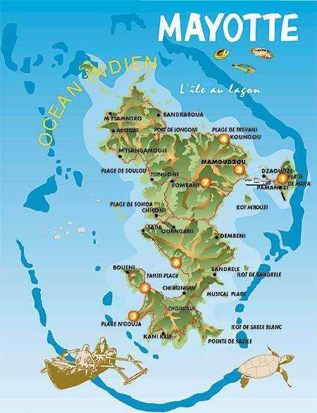Mayotte-carte
