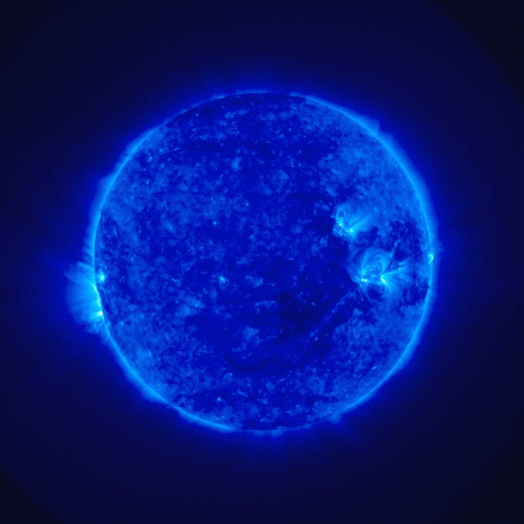Le soleil - Vue Ultraviolet