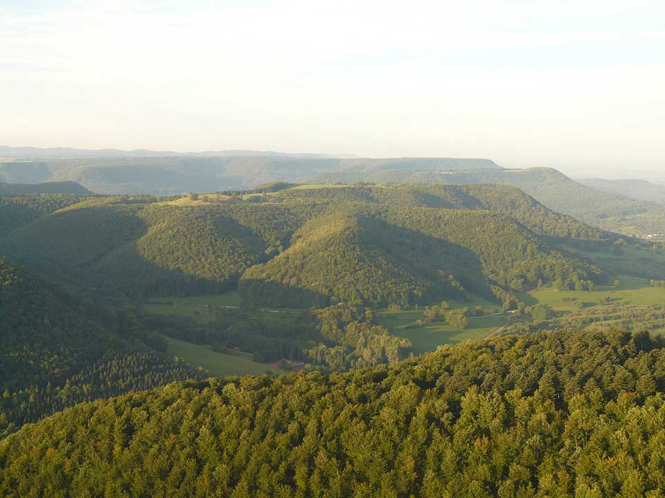 Paysage du Jura Souabe
