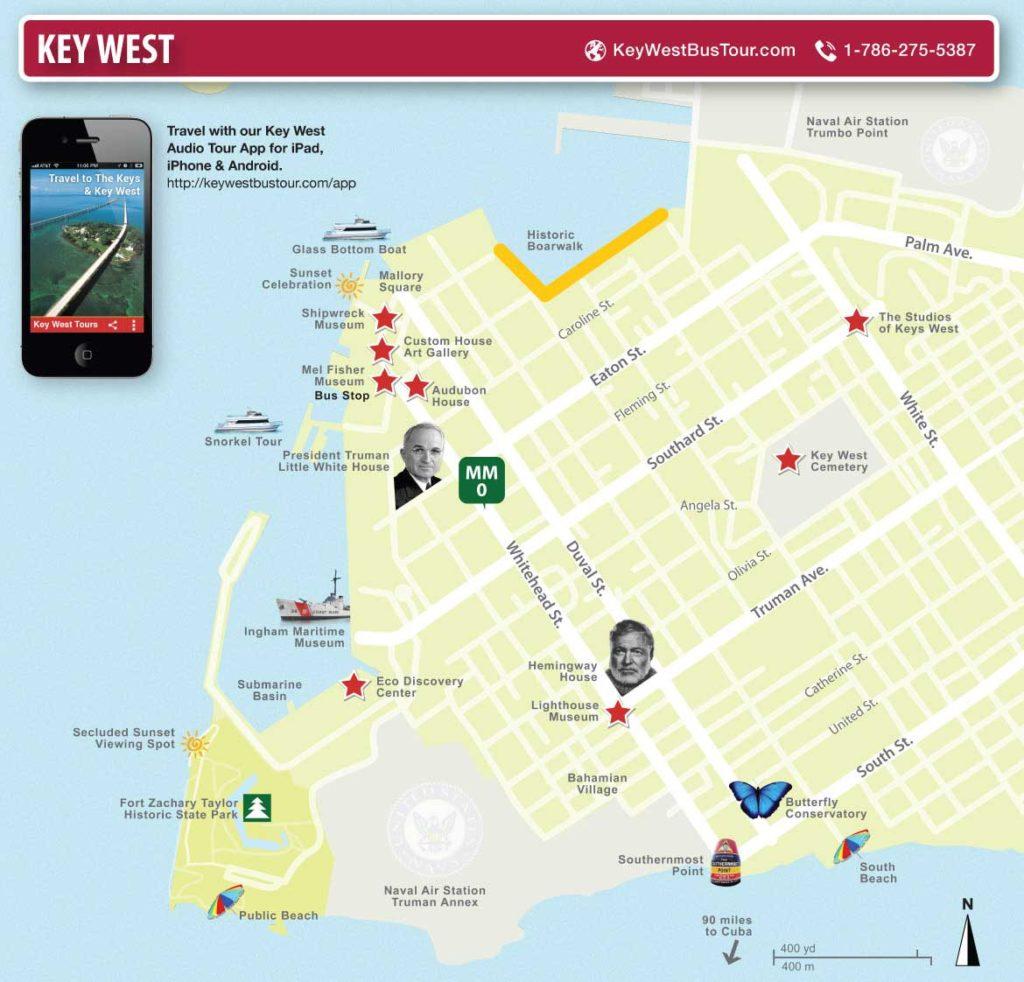 Carte de keys-west