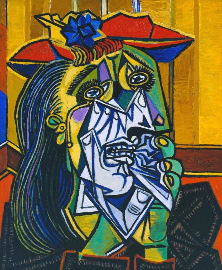 Femme qui pleure de Picasso