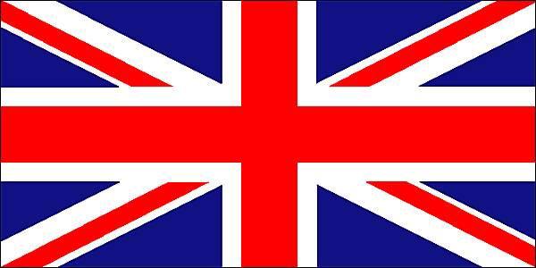 Drapeau Royaume-Uni de Grande Bretagne