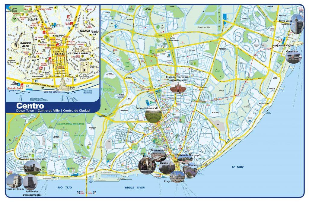 Carte de Lisbonne