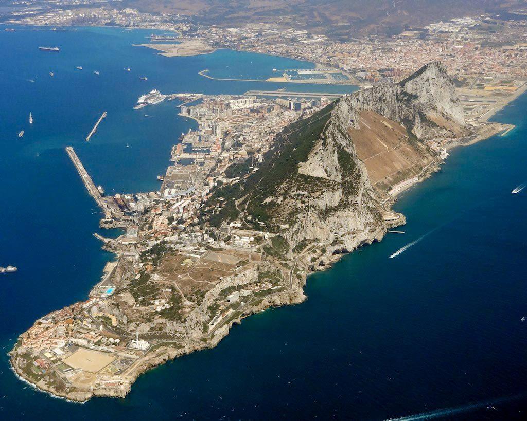 Gibraltar - Photo Aerienne